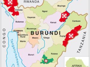 Landkaartjes voor publicaties